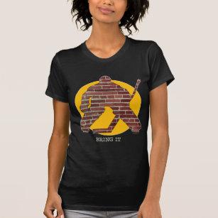 a923d7a2 Brick Wall Goalie T-Shirts & Shirt Designs | Zazzle.co.nz