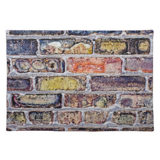 Brick Wall Placemat