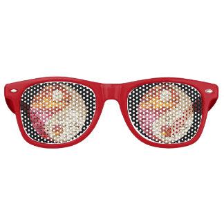 Brick Yin Yang Party Glasses