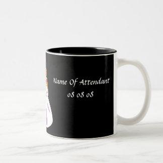 """Bridal Party Attendant"" - Customizable Mug Coffee Mug"