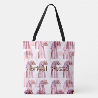 Bridal-Posse_Vintage-Wedding-Veil's-PG_Multi-Sz Tote Bag