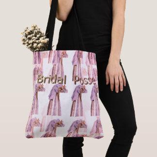 Bridal-Posse_Vintage-Wedding-Veil's-rvis_Multi-Sz Tote Bag