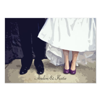 Bridal Shoes Rehearsal Invitation
