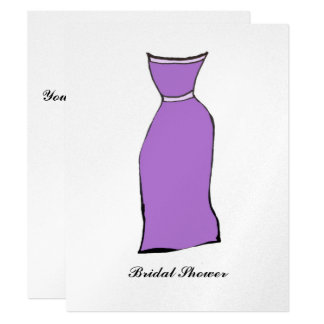 Bridal Shower 11 Cm X 14 Cm Invitation Card