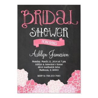 Bridal Shower Chalk Board Invitation