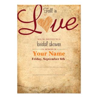 Fall Theme Invitation Templates