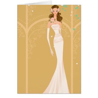 Bridal Shower Invitation Greeting Cards