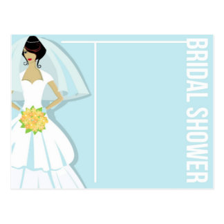 Bridal Shower Invitation Card Postcard