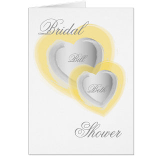 Bridal Shower Invitation-Customize Greeting Card