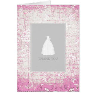 Bridal Shower Thank You Cards {Pink}