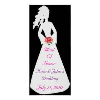 Bridal Silhouette II Maid Of Honor Poster