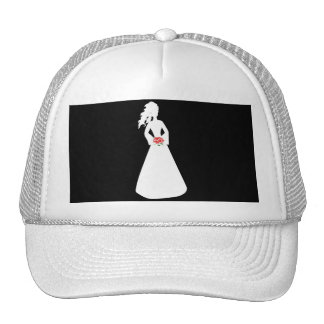Bridal Silhouette II Mesh Hat