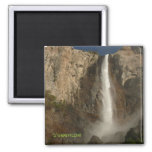 Bridal Veil Falls, Yosemite Square Magnet