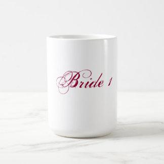 Bride 1 mug for lesbian brides