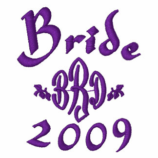 Bride 2009 - With Your Initials - Customized