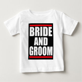 bride and groom baby T-Shirt