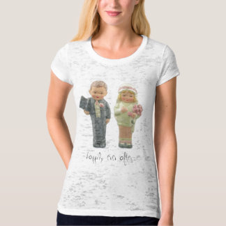 Bride and Groom, happily ever after... Tshirts