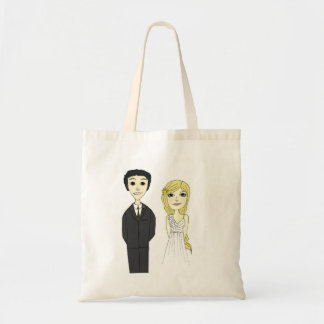 Bride and Groom Tote