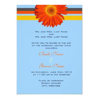 bride and groom's parents wedding invitations