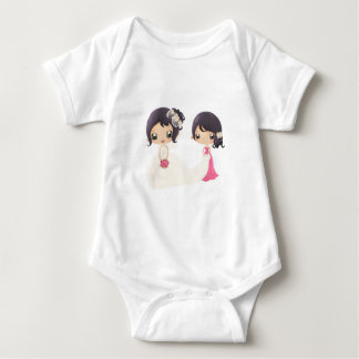 Bride and Maid of Honor Baby Bodysuit