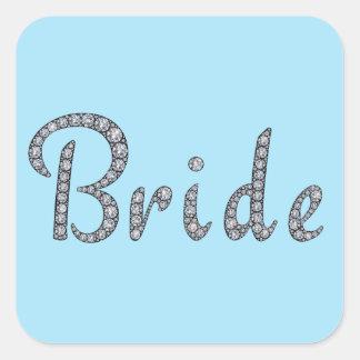 Bride bling sticker