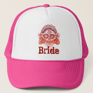 Bride Day of the Dead Hat