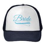 Bride Flourish Blue Cap