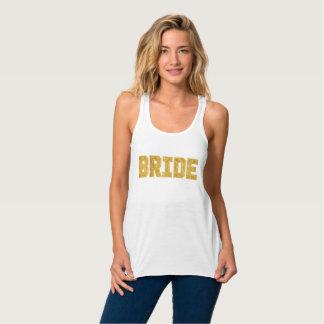 Bride Gold Foil Bachelorette Tank
