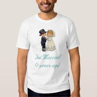 bride & groom tee shirts