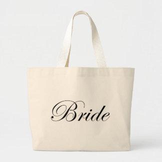 Bride Large Tote Bag