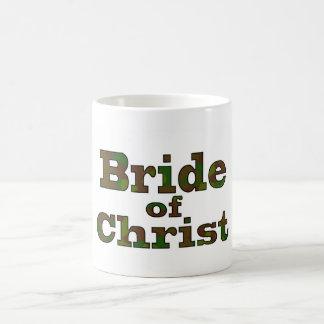 Bride of Christ camo mug