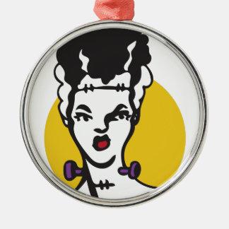 Bride Of Frankenstein Christmas Ornament