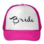 Bride Retro Script Cap
