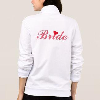 Bride Script Wedding Bachelorette Party Red Heart