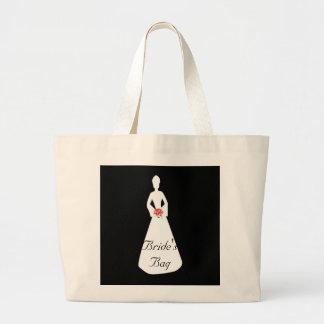 Bride Silhouette I Tote Bags
