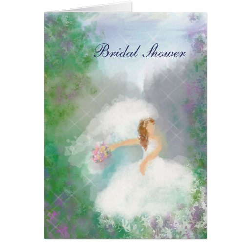 Bride to Be Bridal Shower Invitation Greeting Card