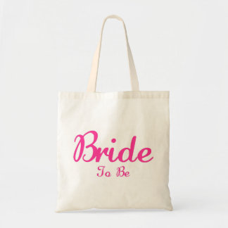 Bride To Be Budget Tote Bag