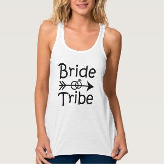 Bride Tribe Bridesmaid tank top funny