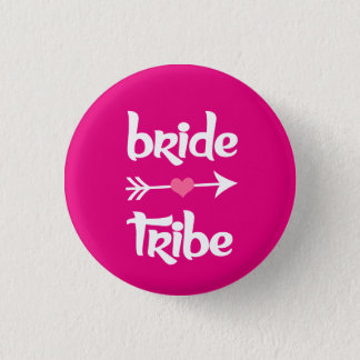 Bride Tribe Bridesmaid women's 3 Cm Round Badge