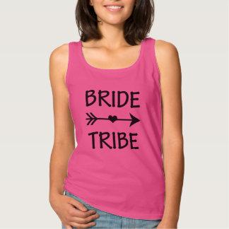 Bride Tribe funny Bridesmaid tanks