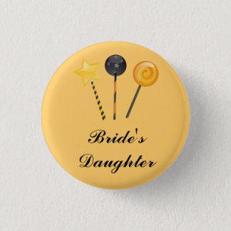"""""""Bride's Daughter"""" - Halloween Lollipops 3 Cm Round Badge"""