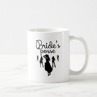 Bride's Posse Basic White Mug
