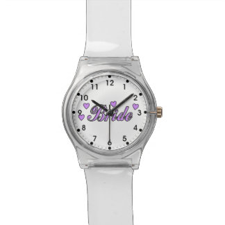 Brides Wedding Hearts Watch