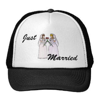 Brides with Roses Trucker Hat