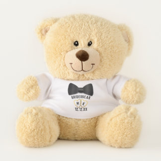 Bridesbear Bridesmaid Bridesman Wedding Teddy Bear