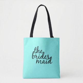 Bridesmaid Bachelorette Tote Bag