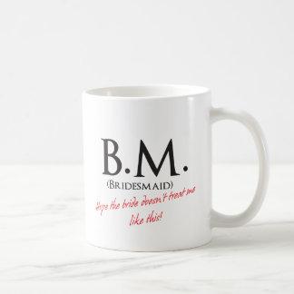 Bridesmaid- BM Basic White Mug