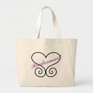 Bridesmaid Carry On Large Tote Bag