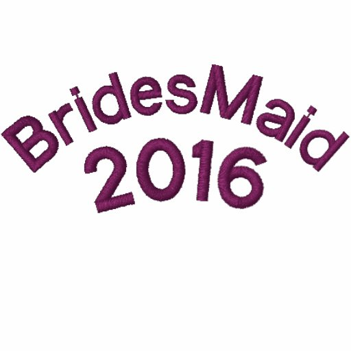 Bridesmaid Customized to your Year