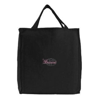Bridesmaid Embroidered Tote Bag